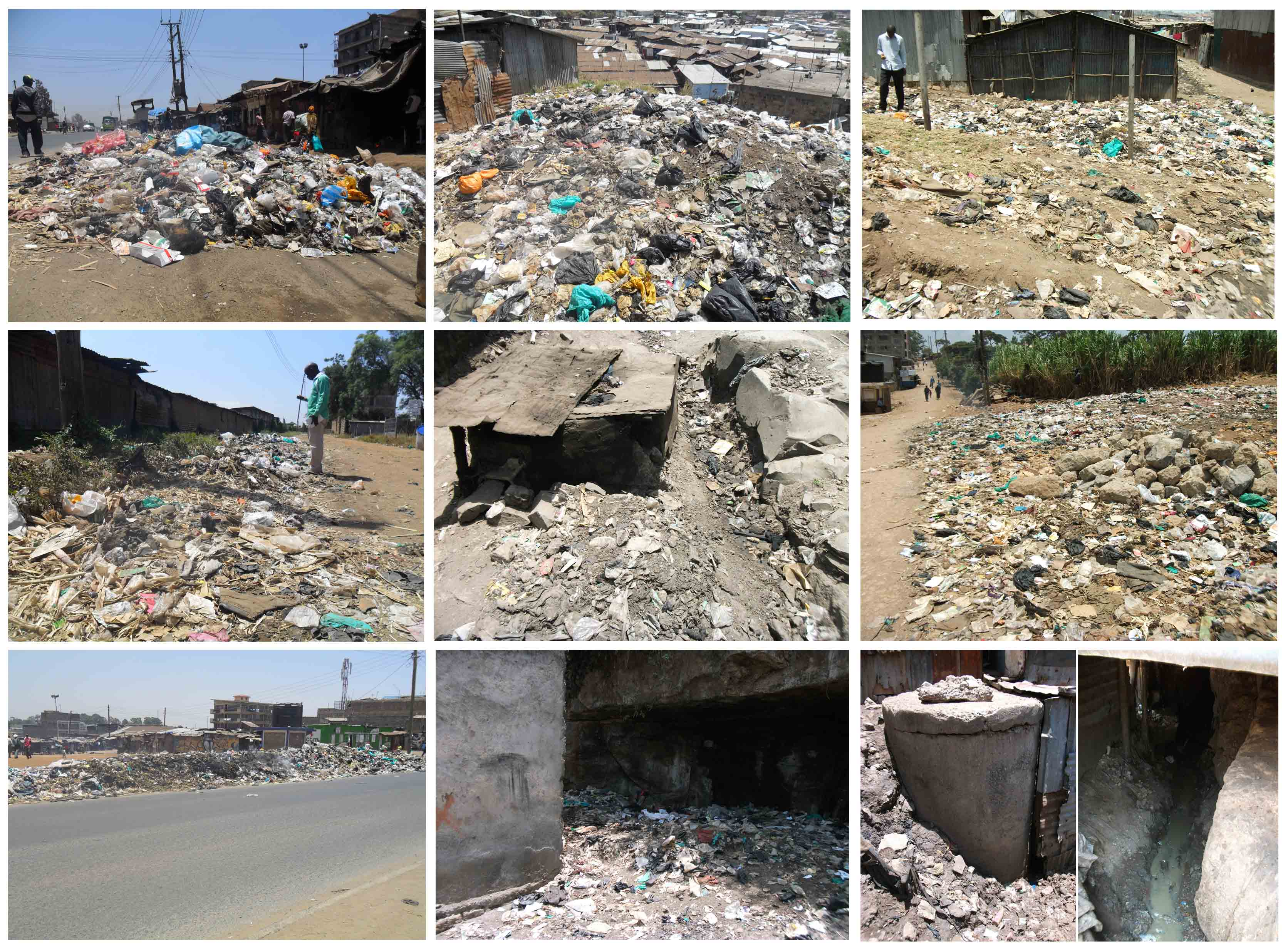 Various Locations of Waste